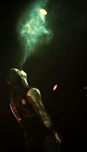 Avengedsevenfold Hellyeah Concert Light Shadow Mattshadows M.Shadows