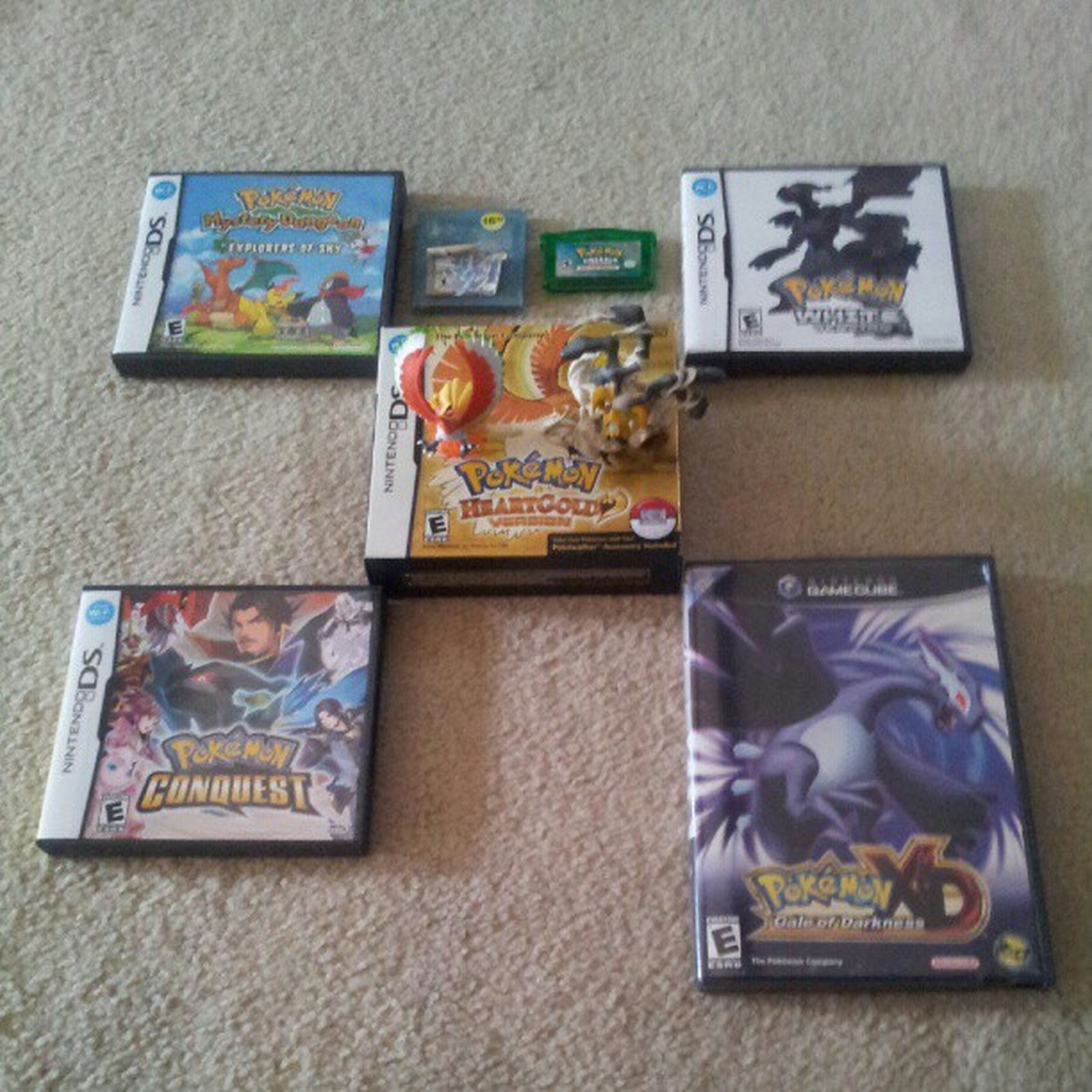 Lol yeah I know I'm a #pokemonnerd I just hate I haven't found Colosseum nor Red and Yellow #pokemon #pokemon #pokemonfan #heartgold #pokemonconquest #pokemoncollection #pokemonXDgaleofdarkness #pokemonwhite #pokemonemerald #pokemoncrystal #ho-oh #giratin Pokemoncollection Pokemonemerald Pokemonconquest Heartgold Pokémon Pokemonnerd Giratina Pokemonfan Pokemonwhite Pokemonxdgaleofdarkness Pokemoncrystal Ho