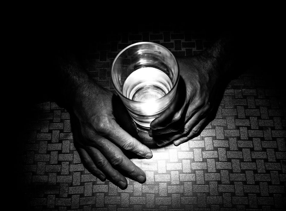Human Hand Real People One Person State Of Mind  From My Point Of View Blackandwhite Blackandwhite Photography Black And White From Where I Stand Emotions Emotional Photography Aged Tired Hands Working Hands Working Man Dark Black Background Looking To The Light Rough
