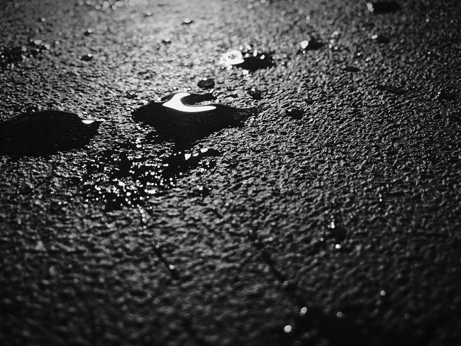 Raw Ap Art Class Black And White Photography Blackandwhite EyeEm Best Shots - Black + White Water Liquid On Floor Drops Deadly