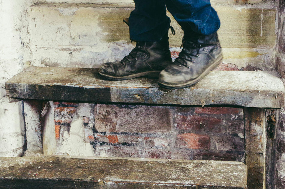Low Section Shoe Human Leg Human Body Part Human Foot One Person Real People Day Standing Men Lifestyles Outdoors One Man Only Adult People Close-up Only Men Adults Only Art Is Everywhere Interior Views Boots Para Boots Army Boots Adult Standing EyeEm Diversity Resist The Secret Spaces Long Goodbye