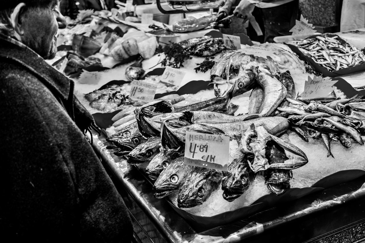 Fish Market Things I See Fragments Of Life