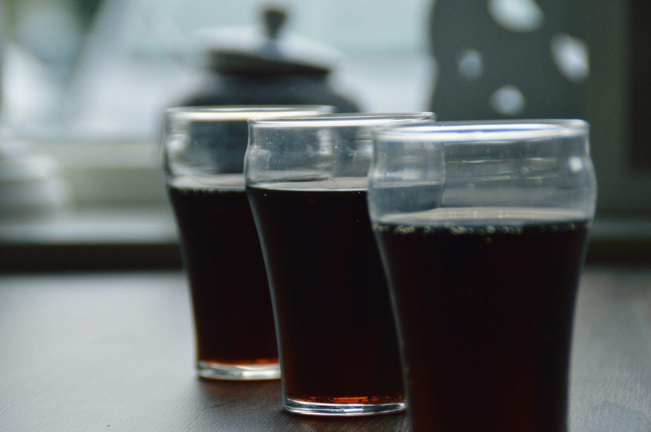 Vintage Soda Glass Three