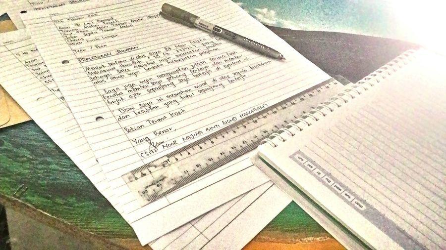 Writing Works Pen Night Writing Paper Kuala Lumpur Letters