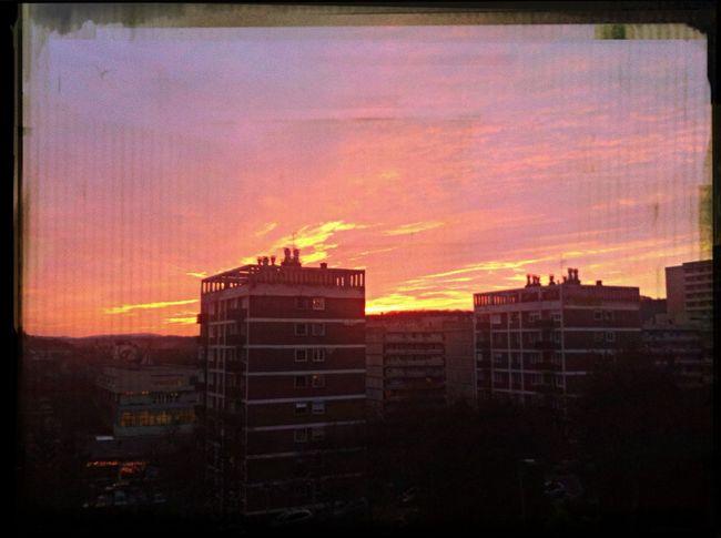 Beautiful sunset Finishschool Sunset