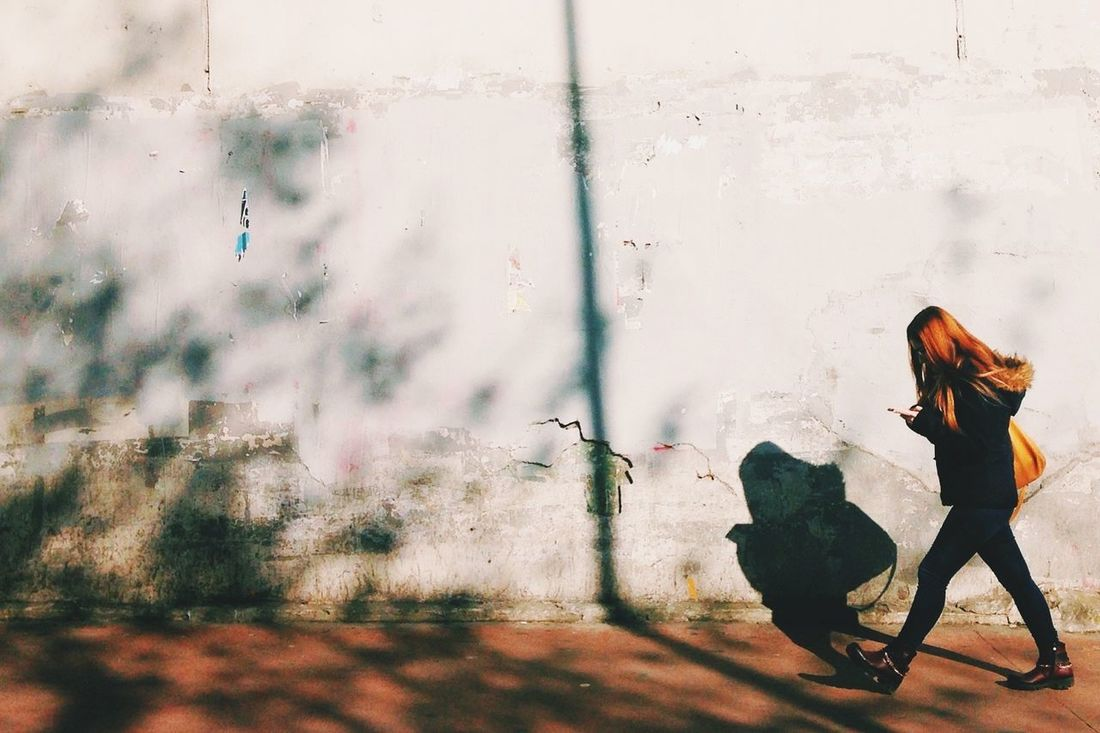 Ginger walk Ginger Better Look Twice Walking Negative Space Perfect Match Findcolours Matching Colors EyeEmTurkey Life Sunny And Cold Capture The Moment Lifeasphoto Walking Girl Enjoying The Moment Vscocam VSCO