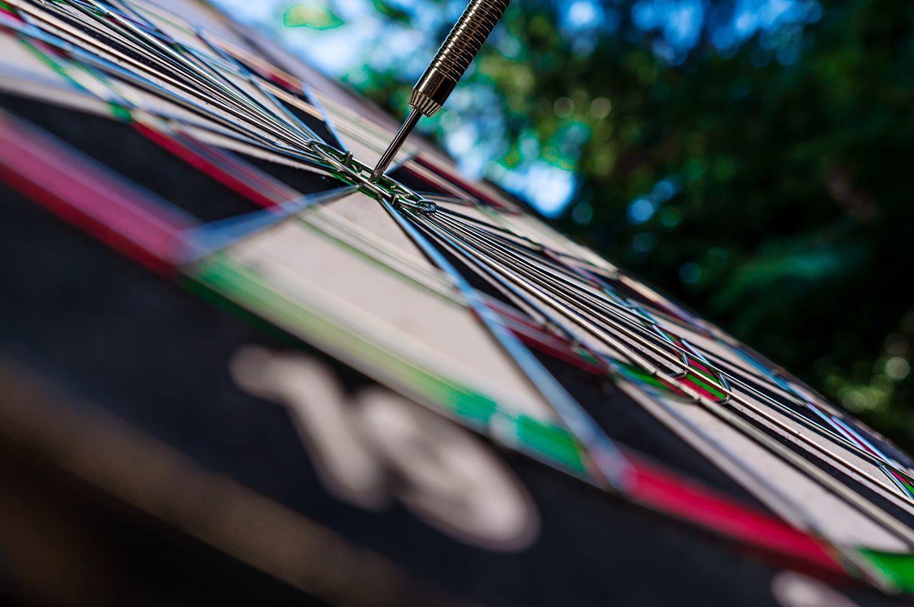 Dart Target Dartboard Aim Concept Marketing Bullseye Sport Winner Point