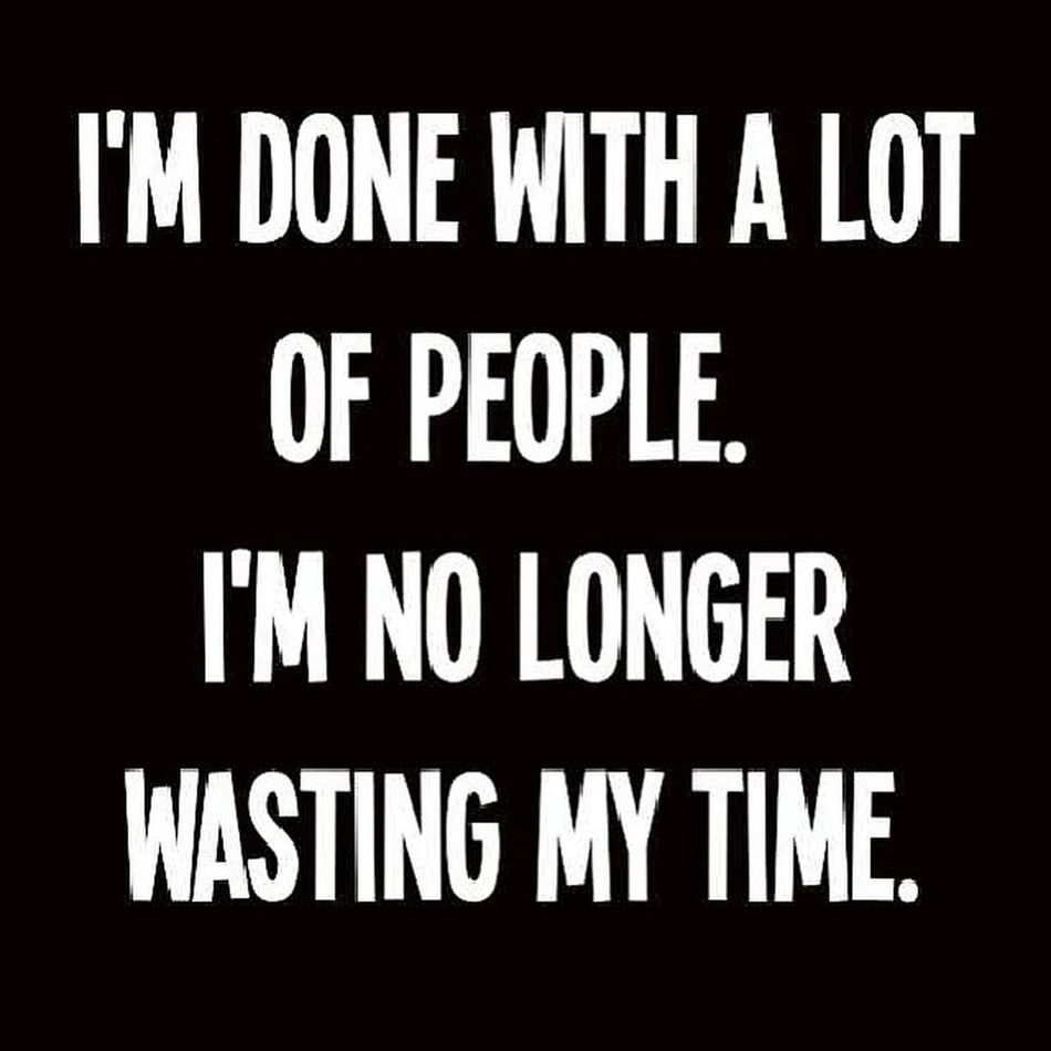 I'm just at a point in my life where I can no longer tolerate people who are not benefiting me and are just wasting time and space in my life. I gotta move forward in life and I don't need people who are holding me back so I'm cutting people loose don't take it personal it's just business.... Powermoves Movingforward