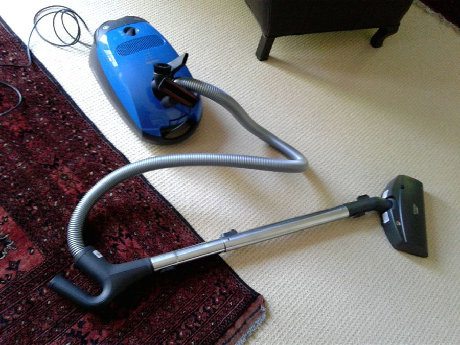 Vacuum Cleaner High Angle View Indoors  No People carpet, rug