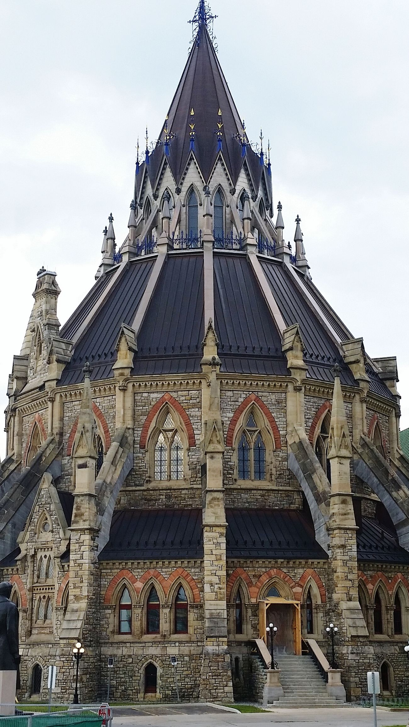 Another picture taken at the Canadian parliment building. Beautiful Architecture Colorful Cloudy Day Details Texture Vacation Castle