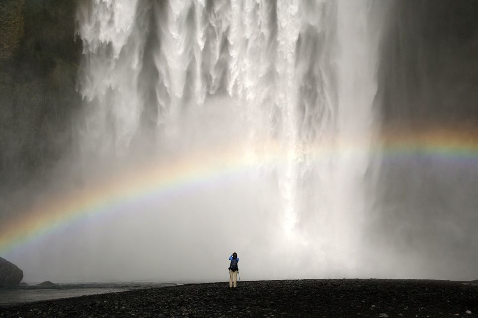 Beautiful stock photos of rainbow, Awe, Beauty In Nature, Day, Enjoying
