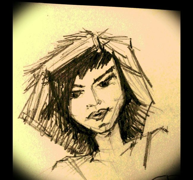 Unfinished_art ArtWork Sketchbook I Love Drawing Pencil Drawing My Hobby
