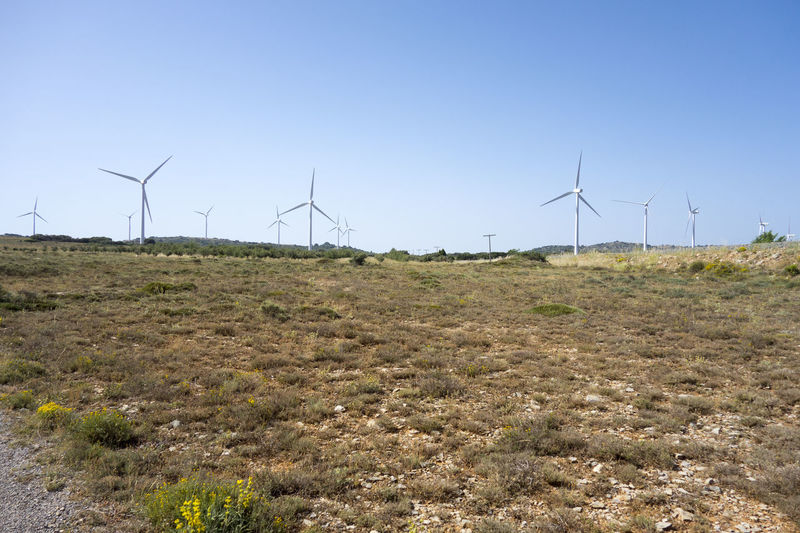 Alternative Energy Barracas Castellón Day Efficiency Environmental Conservation Environmental Issues Field Fuel And Power Generation Grass Industrial Windmill Nature No People Outdoors Power In Nature Renewable Energy Rural Scene Technology Wind Wind Power Wind Turbine Windmill