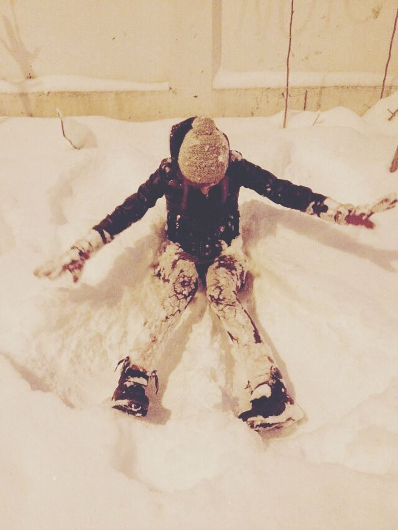 Making Snowangels Bucharest Winter Snow Enjoying Life That's Me Hello World Cold Day Girl Fun