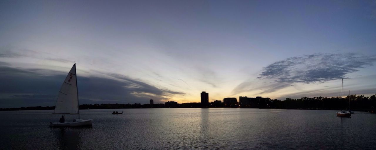 UptownMPLS City Of Lakes Lake Calhoun  Sunset Minneapolis Sunset Landscape Urbanscape Urban Photography Sky And Clouds Amazing Sunset