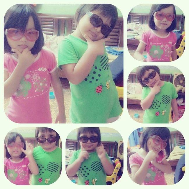Boleh jadi model kanak-kanak adik-adik aku nihh...Stylo baby :D Stylista Baby Comel Cute