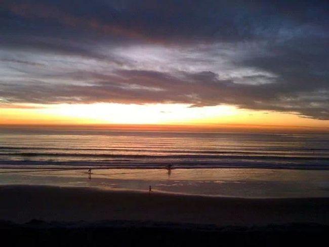 First view of the Pacific San Diego California Ocean Beach