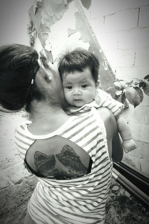 My Nefew My Babygirl Tattooedgirl Black And White 😊😊😍😘😘