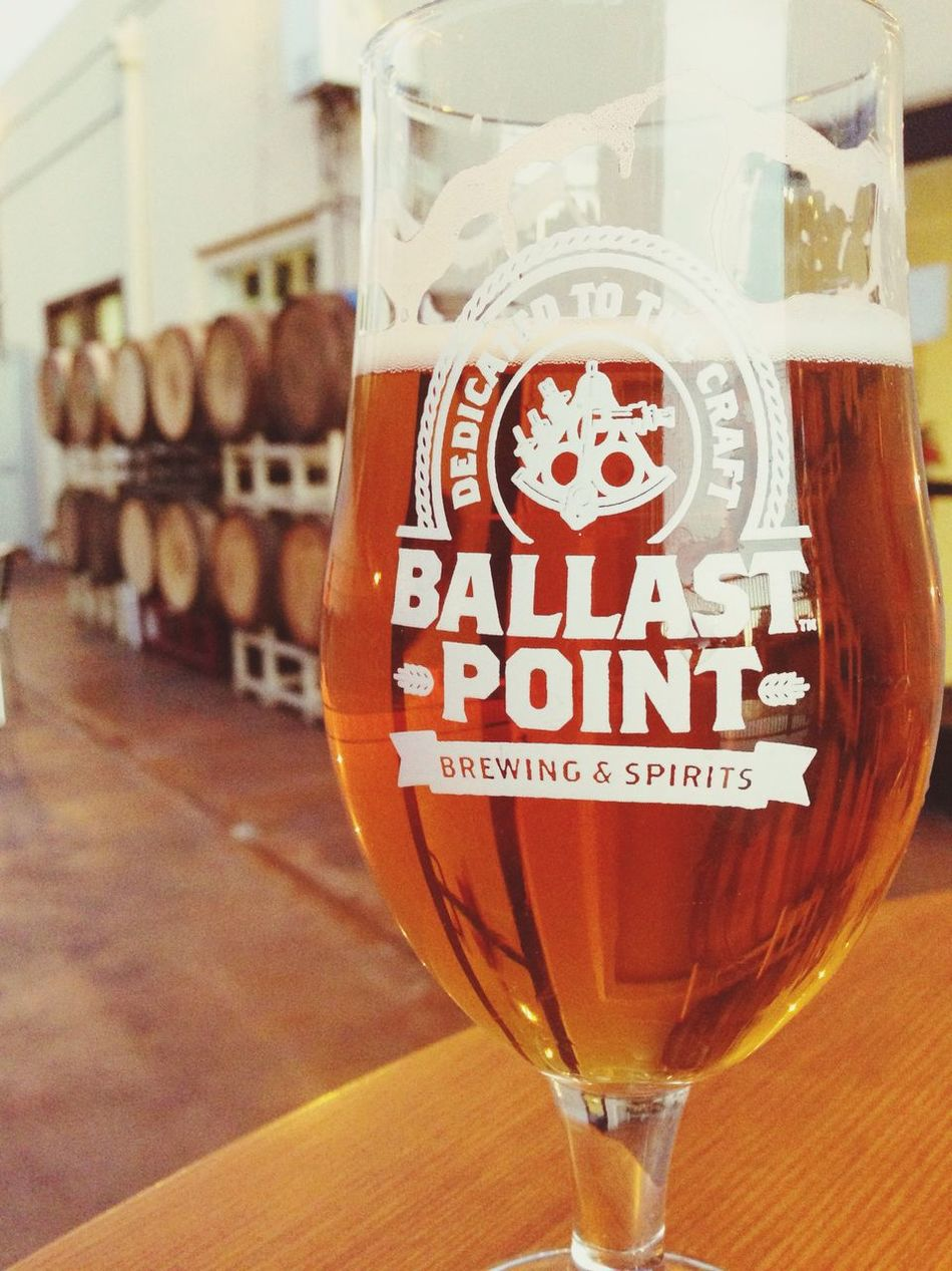 Brewery Beer after walking around San Diego all day a Sculpin IPA is the right thing :-)