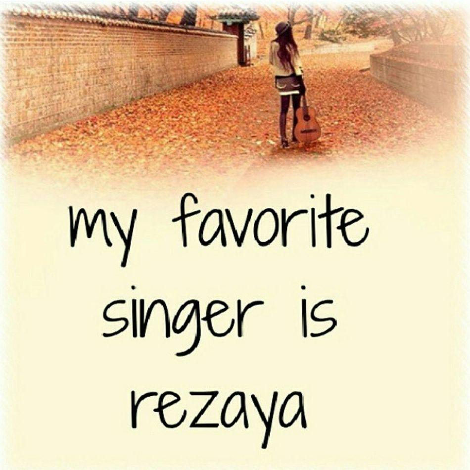 Rezaya Rezayaaa Bestsinger Lovely My Favorite