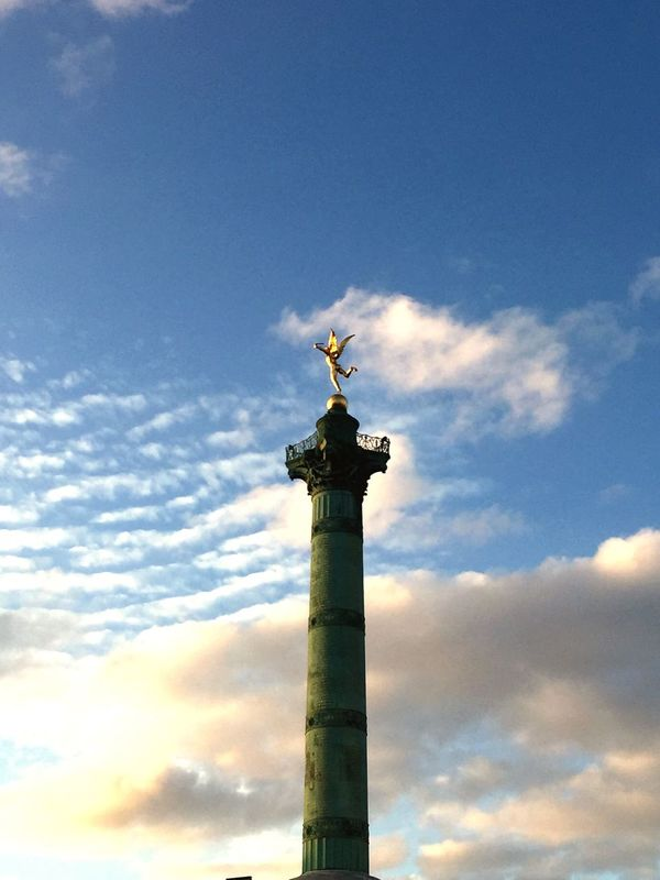 EyeEm Selects Paris Liberty Sky Beautifull Peace AndLove Wakeup Fine Good Bastille Picture Mood Happy EyeEmNewHere