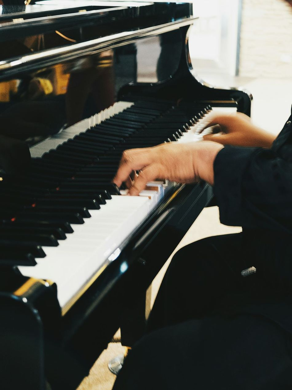 Beautiful stock photos of piano, Artist, Arts Culture And Entertainment, Cropped, Human Body Part