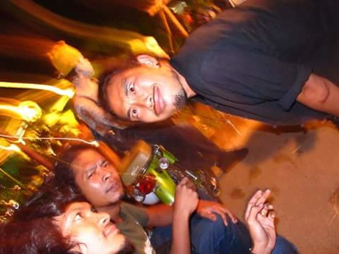 Party - Social Event Friendship Group Of People Celebration Fun Lifestyles Vacations People Outdoors Night Nightlife DrunkHappiness Regae Beer Songkhla Concert Mad Smoking Stones