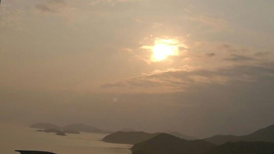 Hey World Morning Sky Sunrise And Clouds Smartphone Camera