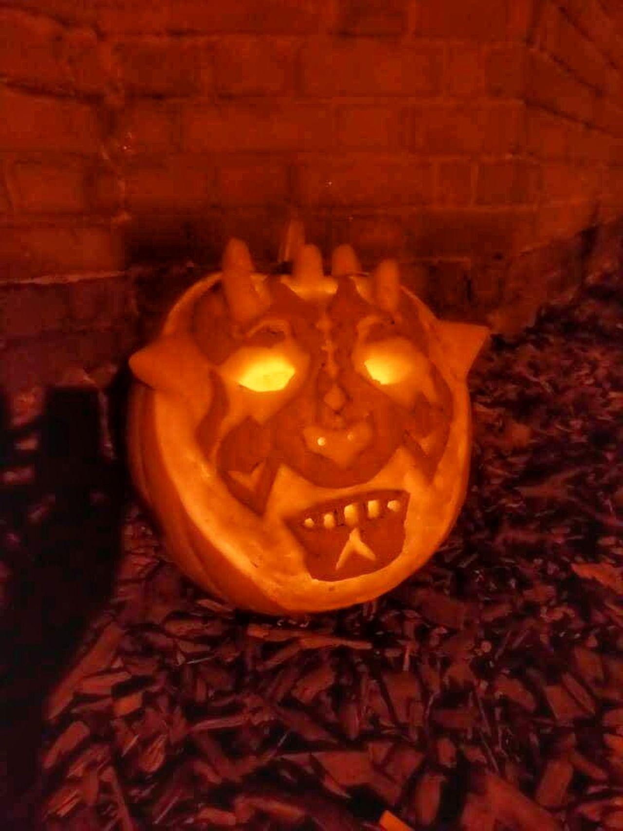 Halloween Pumpkins Glow Pumpkin Carving Pumpkin Darth Maul