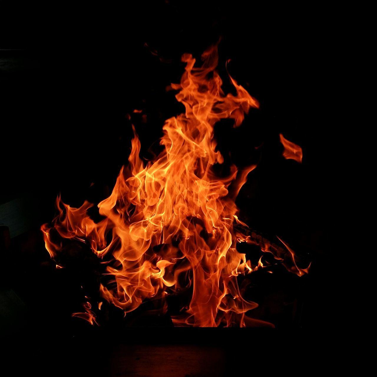 First Eyeem Photo Finnish Summer Midnight Fire Flames