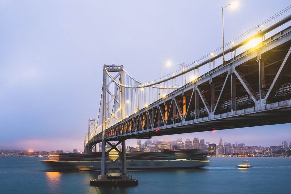Beautiful stock photos of san francisco, Architecture, Bay Bridge, Bay Of Water, Beauty In Nature