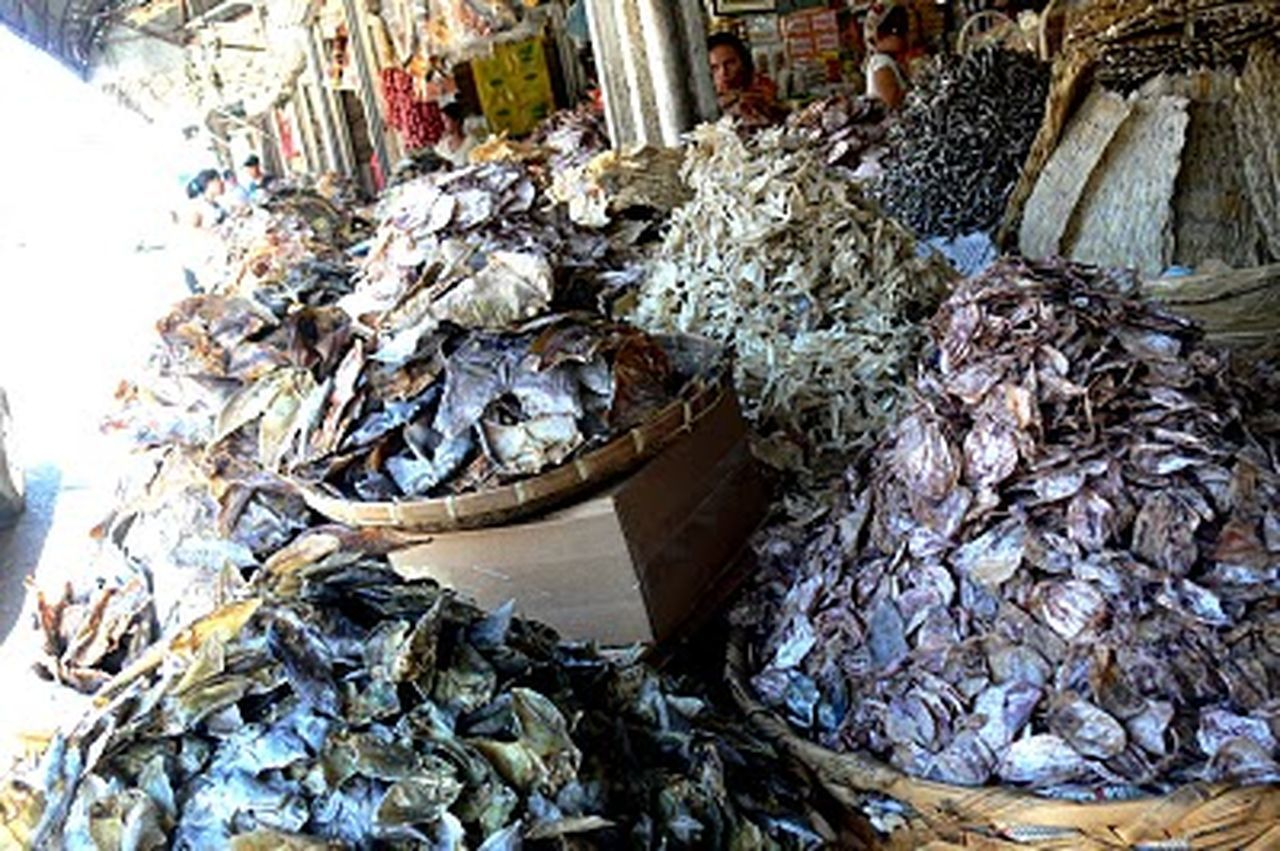 Abundance Collection Day Dead Animal Dirty Dried Fish  Fish For Sale Freshness Heap Large Group Of Objects Market Messy Retail
