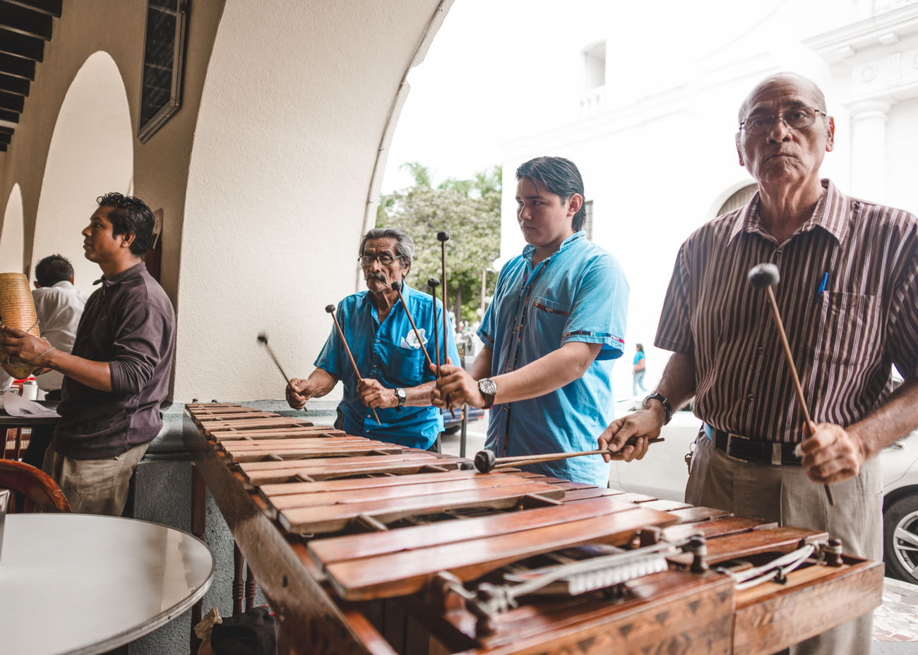 Candid Photography Candid Portraits Casual Clothing Day Folklore Friendship Leisure Activity Lifestyles Marimba Mexico Music People Portrait Relaxation Sitting Street Musicians Streetphotography Town TOWNSCAPE Vacations Veracruz Village Life