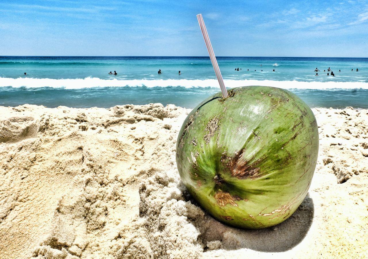 Beachphotography Beach Beach Photography Summer Riodejaneiro Rio450 Happy New Year 2016 Happynewyear Coconut Coconutwater Coconut Water