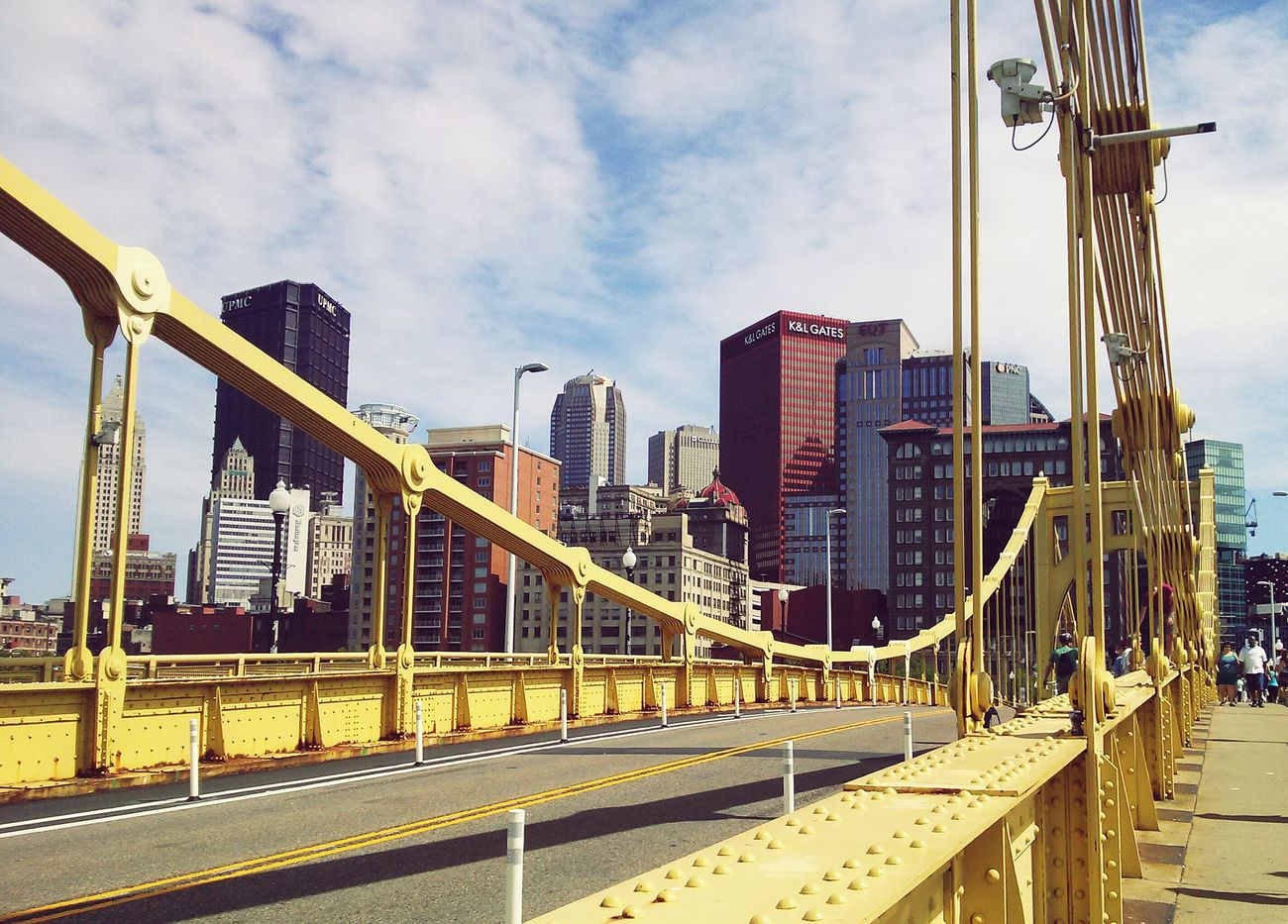 I didn't think Pittsburgh was going to be as nice as it was Downtown Pittsburgh PhonePhotography Cityscapes Embrace Urban Life