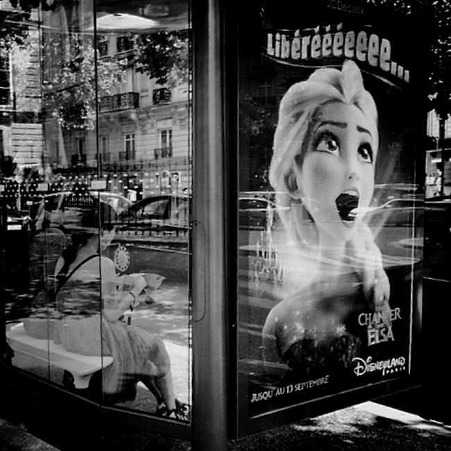 Paris Streetphotography Blackandwhite IPhoneography