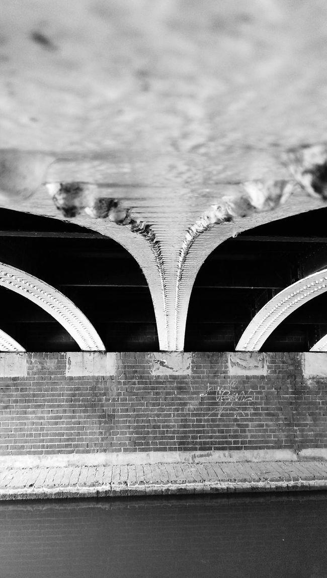 Black And White Photography Under The Bridge Canal Adventure Old Bridge