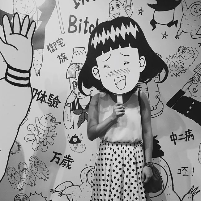 B&W Portrait | Open Edit | That's Me | LINE Cartoon Exhibition