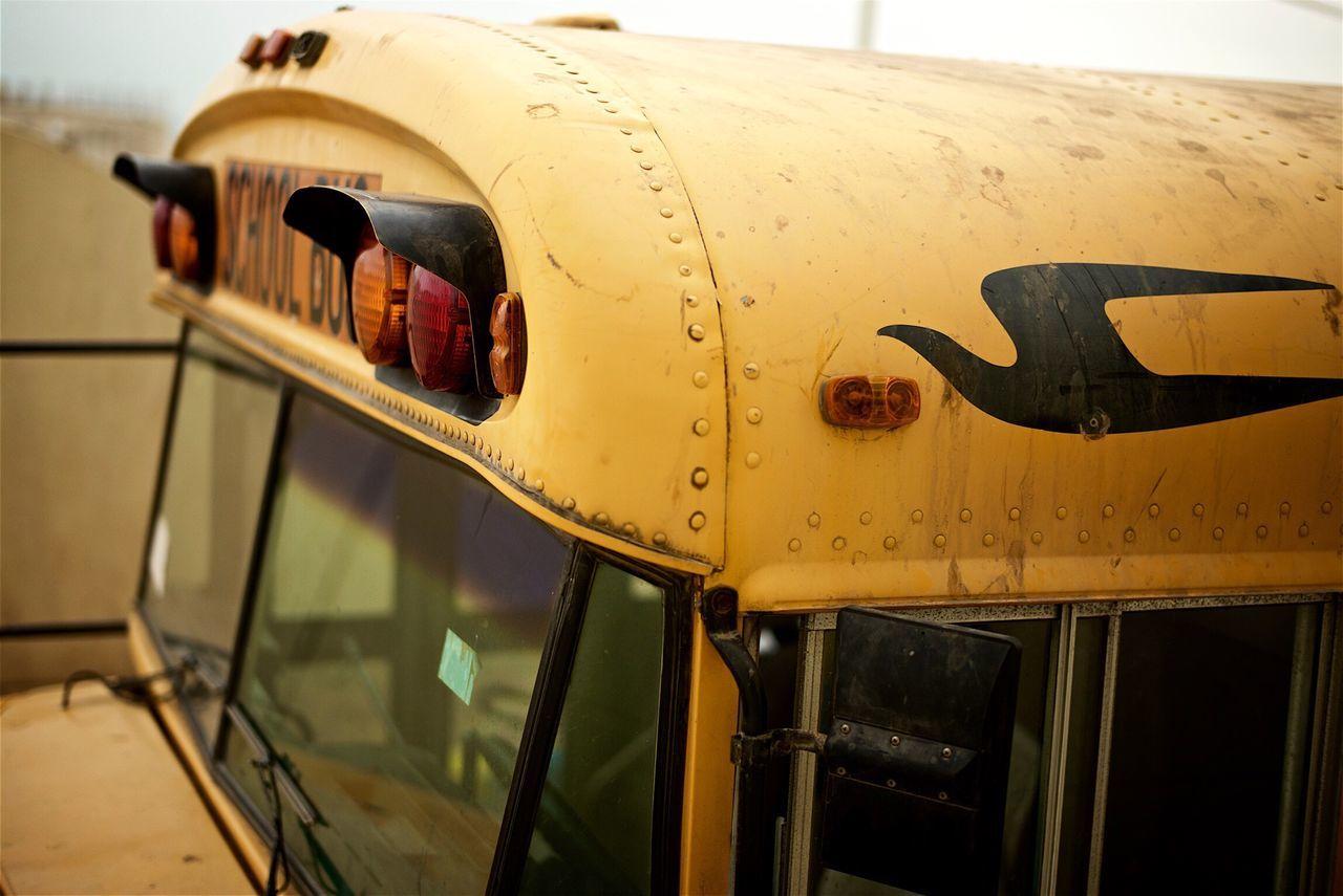 School bus. Schoolbus Yellow Yellowbus