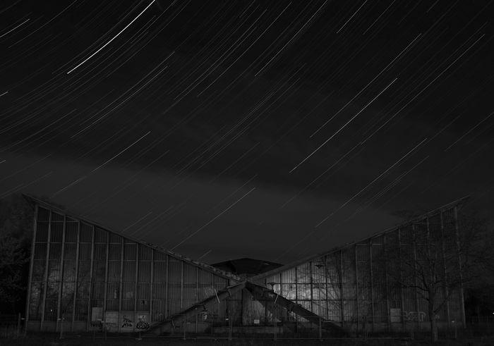 Hyparschale Architecture Hyparschale Magdeburg Night Saxony Anhalt Stars First Eyeem Photo