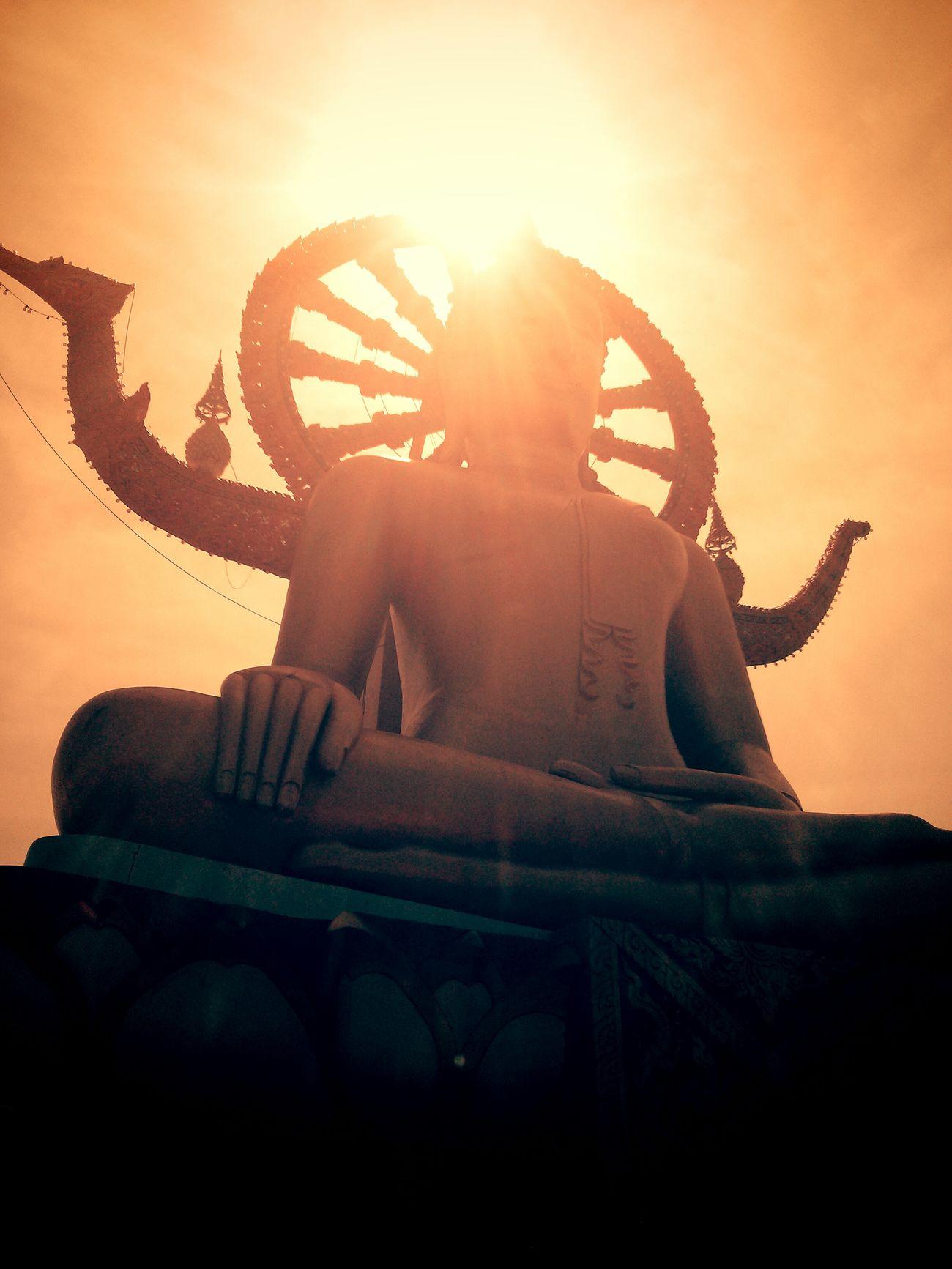 Big Buddha Kus In Thailand