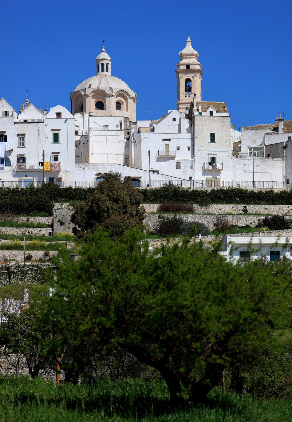 Skyline of Locorotondo, Puglia, Italy Architecture Building Exterior Built Structure Day Italy Locorotondo No People Outdoors Puglia Sky