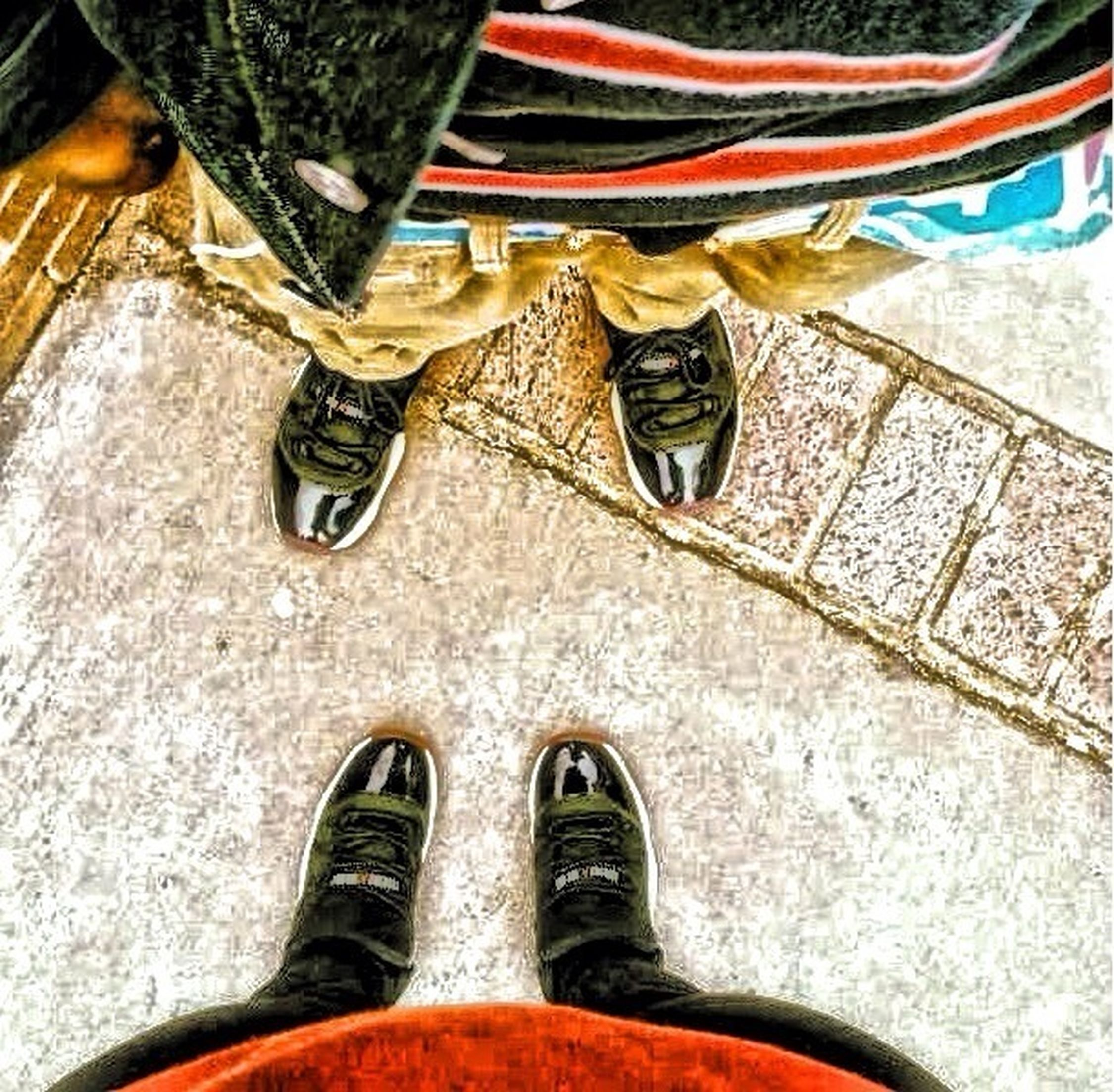 Me and Asia rocking bred 11s