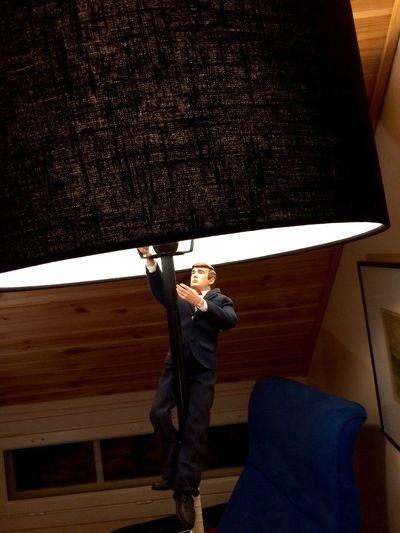 Donald Trump lamp Interior Design Interiors Saarijärvi ArtWork