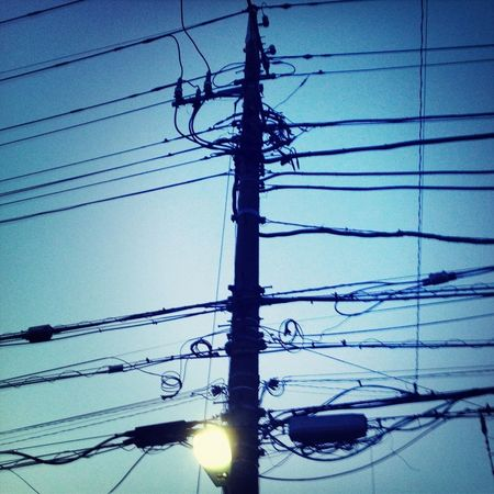 Complicated Electric Wire Electricline