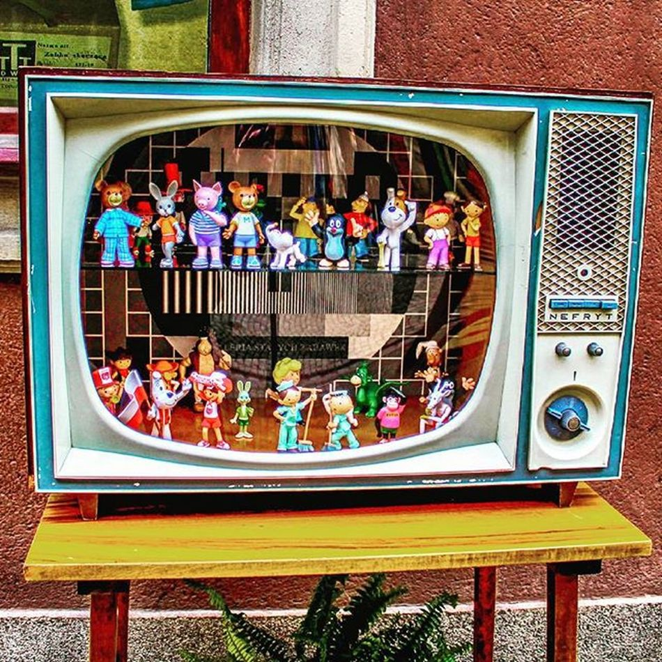 Children's tv! :) Childrenstv Collectibles Gdansk Poland Photowalk Streetphotography