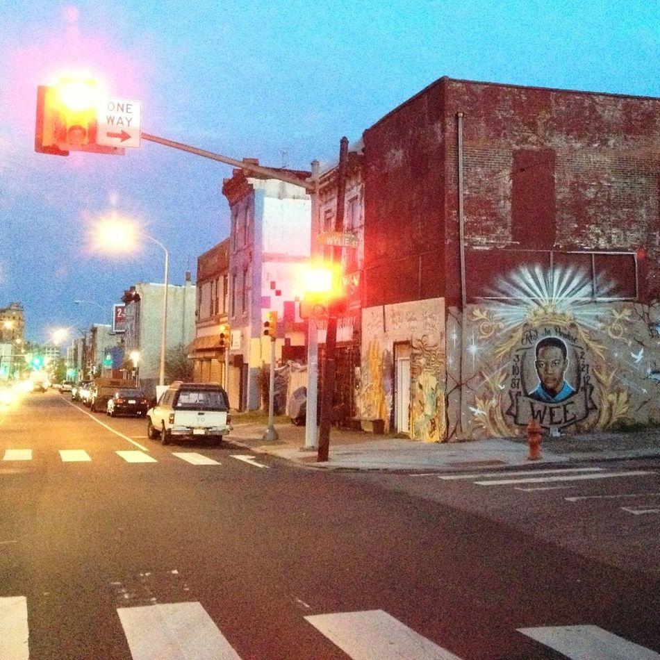 Graffiti Landscape Philadelphia Cityscapes