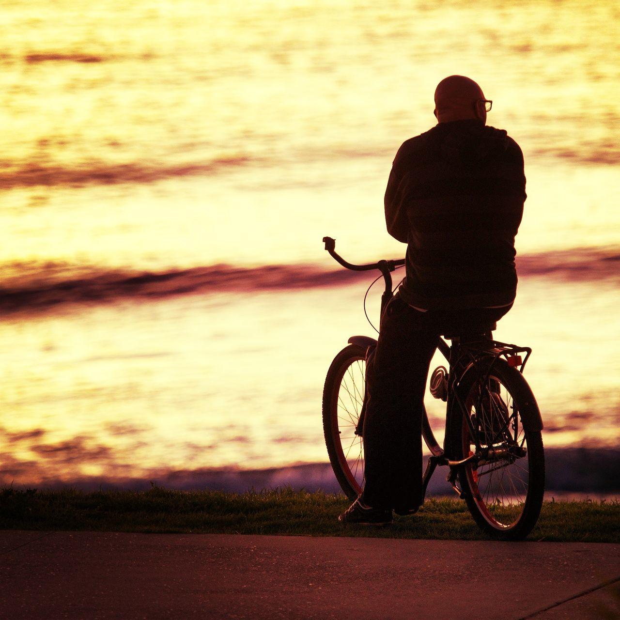 Bike - Cronulla - 21/07/13 Sunrise Sydney Morning