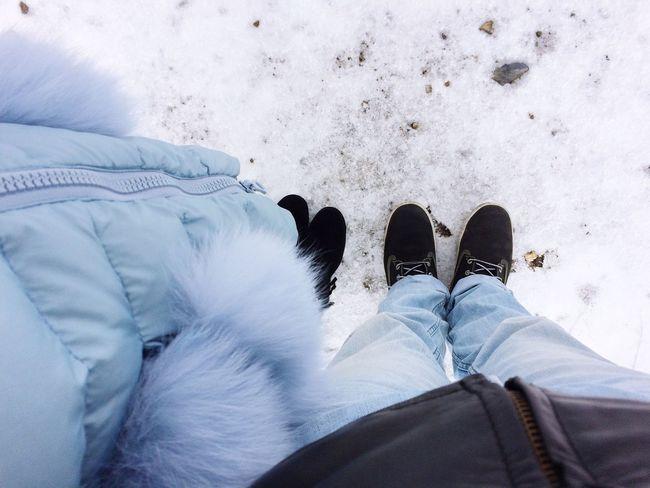 Snow or salt?
