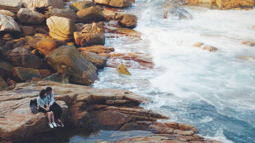 Time is love. Sea Ocean Hongkongese Sun Afternoon Beach Love Summer 香港 香港人 City City Life